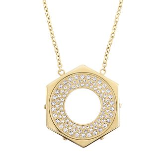 Swarovski Bolt gold-plated crystal pendant - Product number 2270374
