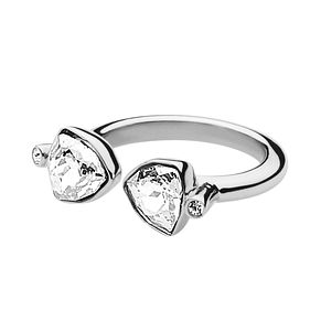 Dyrberg Kern Brill III Stainless Steel & Crystal Ring ML - Product number 2275813