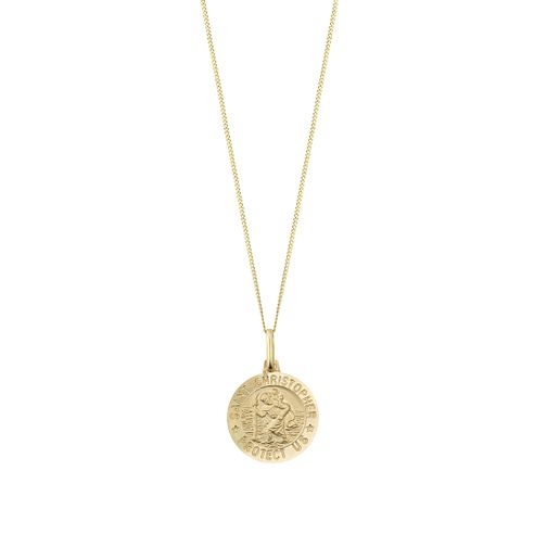 9ct yellow gold St. Christopher pendant - Product number 2278987