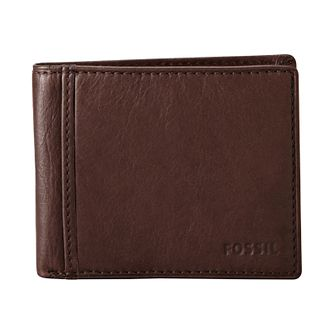 Fossil Ingram Traveler brown leather bifold wallet - Product number 2279142