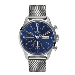 Bulova Accu-Swiss men's stainless steel mesh bracelet watch - Product number 2293420