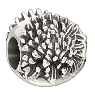 Chamilia sterling silver November Flower Chrysanthemum bead - Product number 2302926