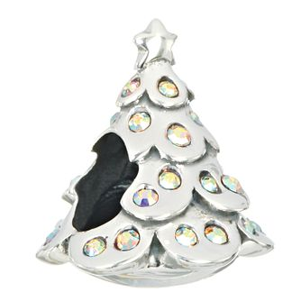 Chamilia silver & Swarovski crystal The Giving Tree charm - Product number 2303000