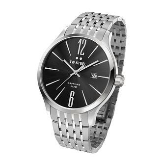 TW Steel Slim Line men's stainless steel bracelet watch - Product number 2310015