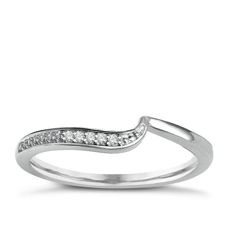 9ct White Gold & Diamond Perfect Fit Eternity Ring - Product number 2310481