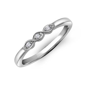 Perfect Fit 9ct White Gold & Diamond Eternity Ring - Product number 2310627