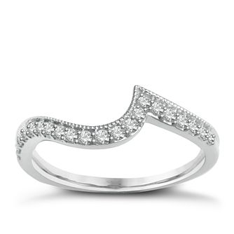 9ct White Gold & Diamond Perfect Fit Eternity Ring - Product number 2313103