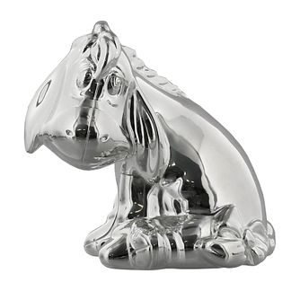 Disney Christening Silver Plated Eeyore Money Box - Product number 2320894
