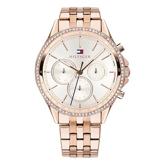 Tommy Hilfiger Ladies' Stainless Steel Bracelet Watch - Product number 2323567