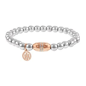 Tommy Hilfiger Ladies' Two-Tone Stretch Bead Bracelet - Product number 2330830
