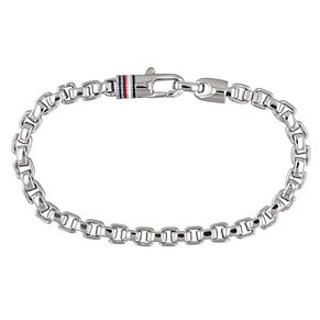 Tommy Hilfiger Men's Stainless Steel Box Chain Bracelet - Product number 2331535
