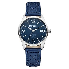 Barbour Alanby men's blue fabric strap watch - Product number 2332744