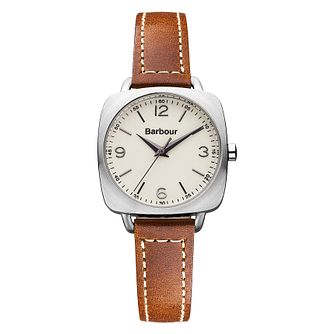 Barbour Chapton ladies' brown leather strap watch - Product number 2333155