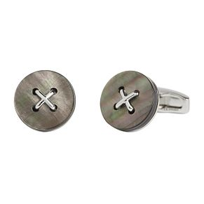 Simon Carter mother of pearl button cufflinks - Product number 2334100