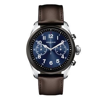 Montblanc Summit 2 Men's Brown Leather Strap Watch - Product number 2334984