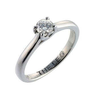 Leo Artisan platinum 0.33ct I-SI2 diamond solitaire ring - Product number 2342898