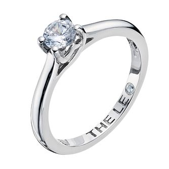 Leo Artisan platinum 0.40ct I-SI2 diamond solitaire ring - Product number 2343436