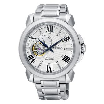 Seiko Premier Men's Stainless Steel Bracelet Watch - Product number 2346699