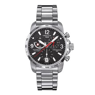 Certina DS Podium men's stainless steel bracelet watch - Product number 2351625