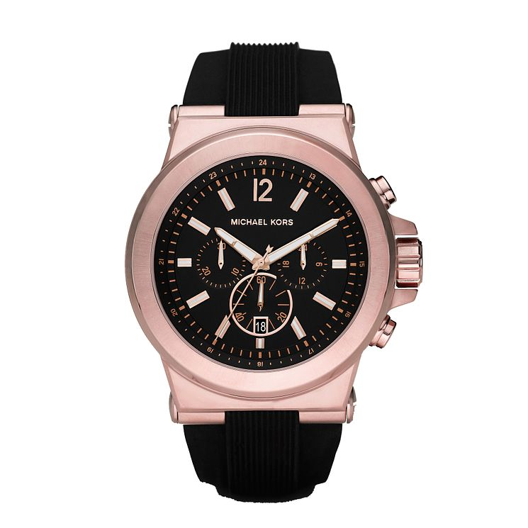 Michael Kors Men's Rose Gold Tone Strap Watch - Product number 2353369