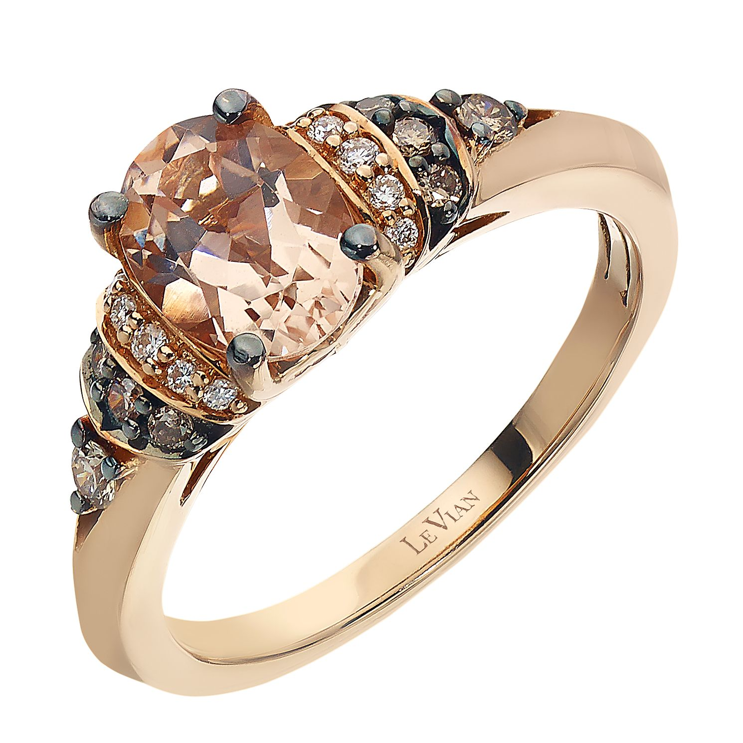 media t w chocolate tw in ct engagement ring set and rose white le wedding rings diamond gold vian