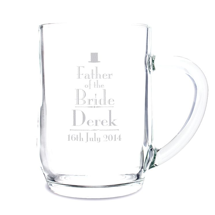 Decorative Wedding Father of the Bride Tankard - Product number 2391988