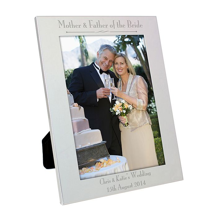 Silver 5x7 Decorative Mother & Father of the Bride Frame - Product number 2392240
