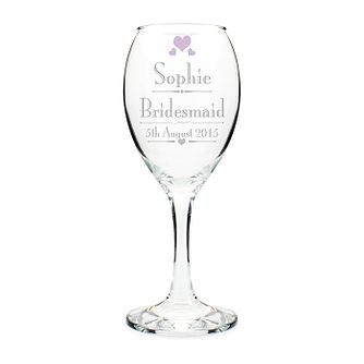 Decorative Wedding Female Wine Glass - Product number 2393220