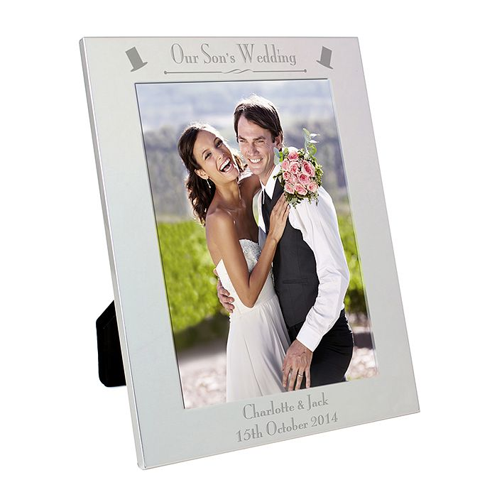 Silver 5x7 Decorative Our Son's Wedding Frame - Product number 2393514