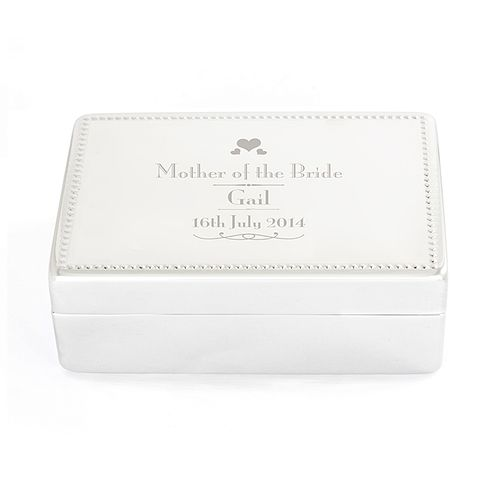 Decorative Wedding Mother of the Bride Jewellery Box - Product number 2393883