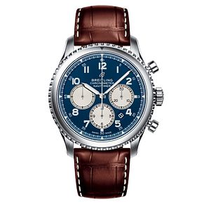 Breitling Navitimer 8 B01 Men's Blue Dial Strap Watch - Product number 2394111