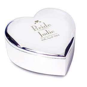 Decorative Wedding Bride Heart Trinket - Product number 2394332