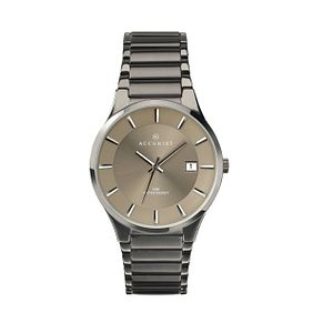 Accurist Men's Ion Plated Bracelet Watch - Product number 2399903