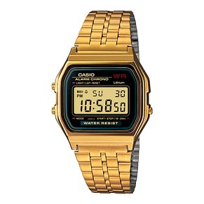 Casio Men's Yellow Gold Tone Digital Watch - Product number 2400421