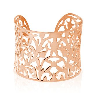 Tresor Paris Rose PVD-plated 45mm Filigree bangle - Product number 2409518