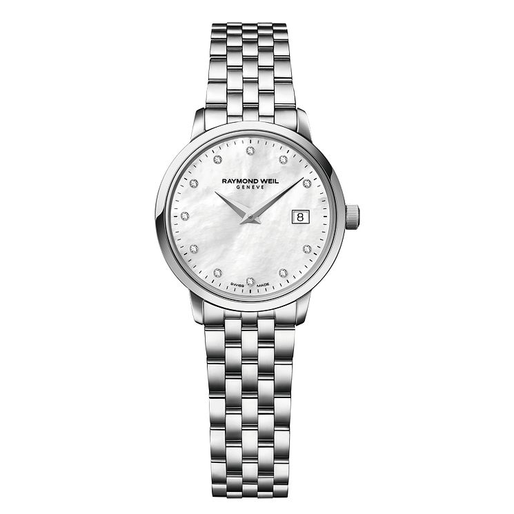 Raymond Weil Toccata Ladies' Stainless Steel Bracelet Watch - Product number 2469251