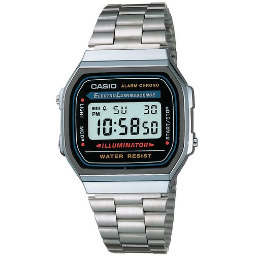 Casio Men's Stainless Steel Bracelet Digital Watch - Product number 2492806