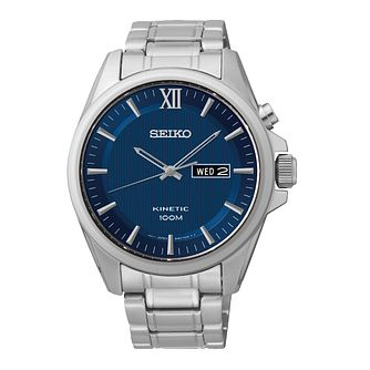 Seiko Conceptual Kinetic Men's Stainless Steel Watch - Product number 2513358