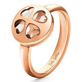 Folli Follie Heart4Heart rose gold-plated ring size L 1/2 - Product number 2542595