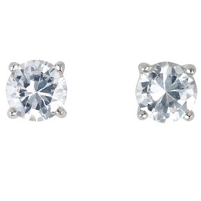 18ct white gold 2/3 of a carat diamond stud F-G VS2 earrings - Product number 2543990