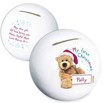 Teddy 1st Christmas Money Box - Product number 2546663