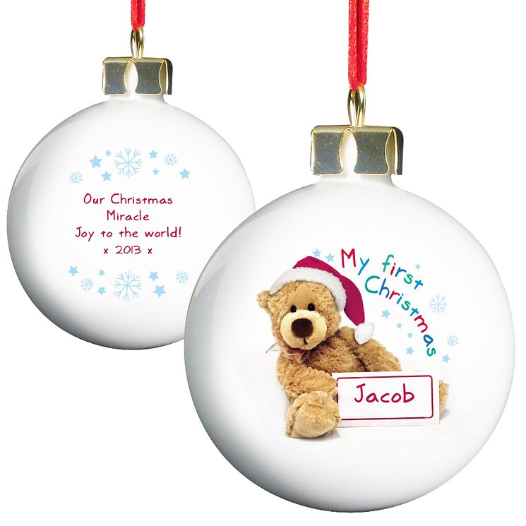 Teddy 1st Christmas Bauble - Product number 2547678