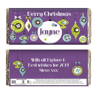 Retro Bauble Chocolate Bar - Product number 2547783
