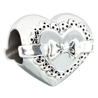 Chamilia Sterling Silver Love Token Heart Shaped Bead - Product number 2551039