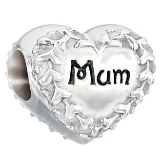 Chamilia Sterling Silver Mother's Day 2015 Mum Heart Bead - Product number 2551349