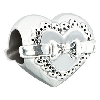 Chamilia love token sterling silver gift bead - Product number 2583496