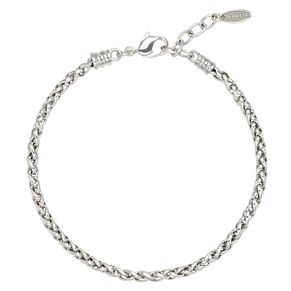 "Chamilia sterling silver 7.5"" wheat chain bracelet - Product number 2590417"