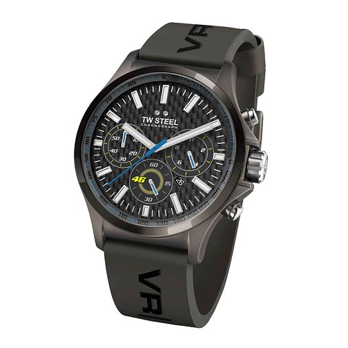 TW Steel men's black strap chronograph watch - Product number 2600919