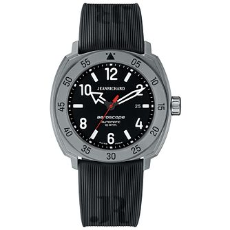 JEANRICHARD men's aeroscope black strap watch - Product number 2605287