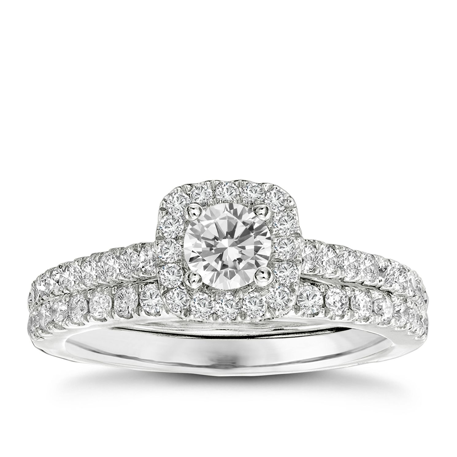 Bridal Sets Diamond Rings Ernest Jones